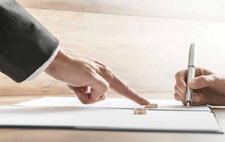 تصنیف دارایی هنگام طلاق